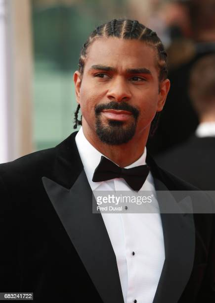 David Haye attends the Virgin TV BAFTA Television Awards at The Royal Festival Hall on May 14 2017 in London England