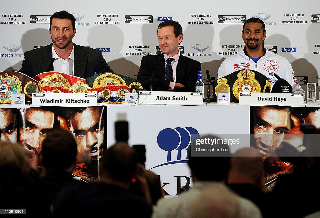 David Haye v Wladimir Klitschko - Press Conference