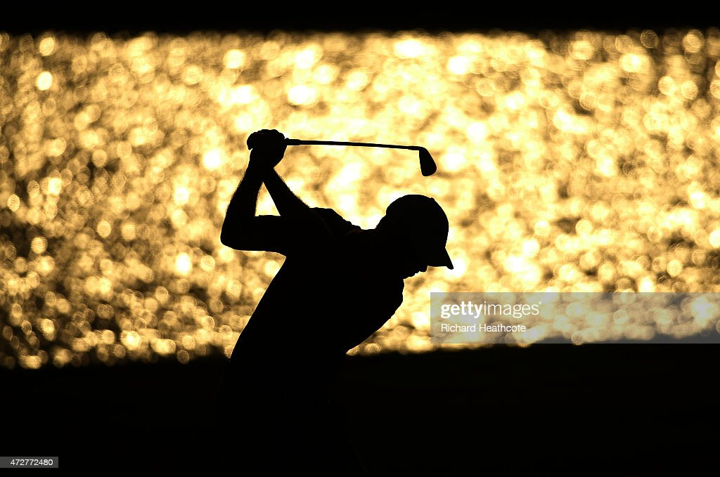 David Hearn of Canada plays a shot on the 18th hole during round three of THE PLAYERS Championship at the TPC Sawgrass Stadium course on May 9, 2015 in Ponte Vedra Beach, Florida.