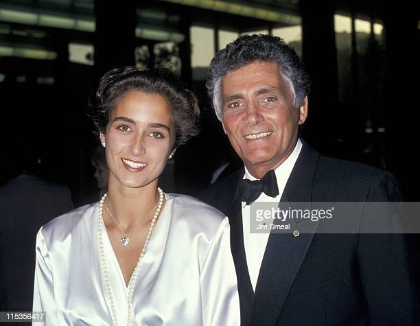 David Hedison and wife during Premiere of Licence to Kill Los Angeles at Director's Guild Theater in Hollywood California United States