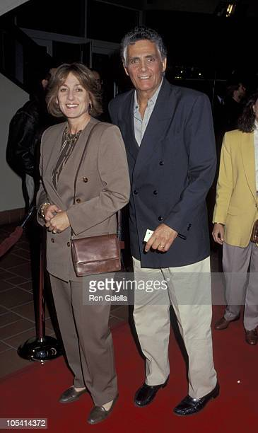 David Hedison and wife during The Sheltering Sky Los Angeles Screening at AMC Century 14 Cinema in Century City California United States