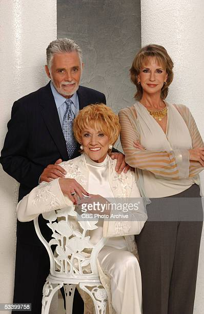 David Hedison Jeanne Cooper and Jess Walton star in the CBS daytime drama THE YOUNG AND THE RESTLESS on the CBS Television Network