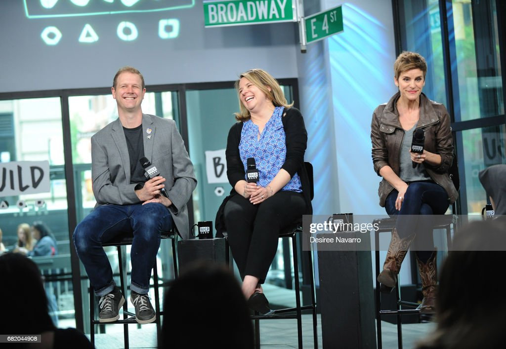 "Build Presents The Cast Of ""Come From Away"" : News Photo"