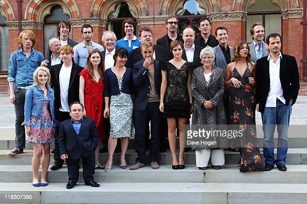 David Heyman David Barron Emma Watson Rupert Grint Ralph Fiennes Robbie Coltrane Warwick Davis Tom Felton Michael Gambon Domnhall Gleeson Jason...