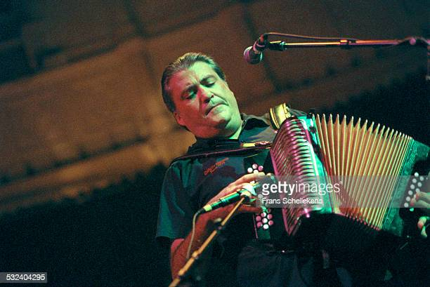 David Hidalgo accordion performs with Los Lobos at the Paradiso on September 20th 1999 in Amsterdam Netherlands