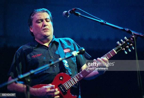 David Hidalgo guitar and vocals performs with Los Lobos at the Paradiso on September 20th 1999 in Amsterdam Netherlands