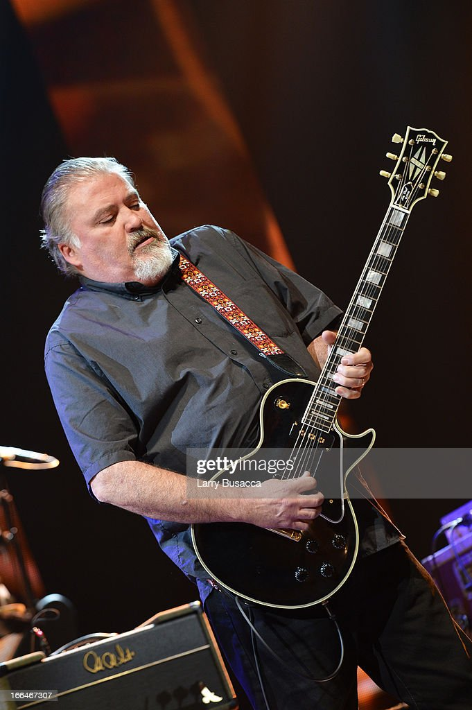David Hidalgo performs on stage during the 2013 Crossroads Guitar Festival at Madison Square Garden on April 12, 2013 in New York City.