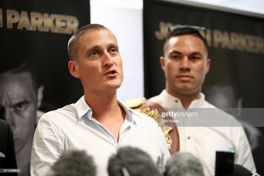 Joseph Parker Press Conference : News Photo
