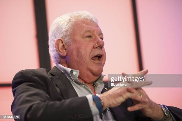 David Hill president of Hilly Inc and former president of Fox Sports speaks during the Montgomery Summit in Santa Monica California US on Thursday...