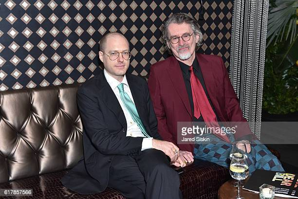 David Hines and Robert Bentley attend the Aperture Foundation 2016 Fall Benefit at The Edison Ballroom on October 24 2016 in New York City
