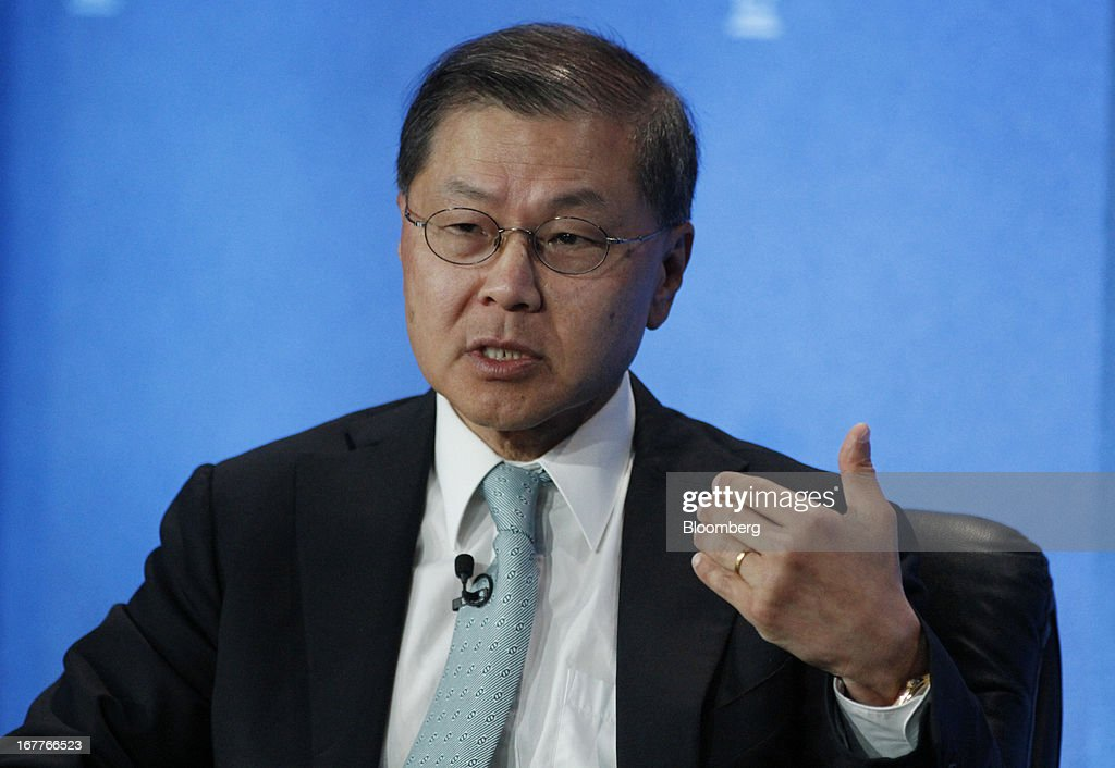 David Ho, scientific director and chief executive officer of the Aaron Diamond AIDS Research Center, speaks at the annual Milken Institute Global Conference in Beverly Hills, California, U.S., on Monday, April 29, 2013. The conference brings together hundreds of chief executive officers, senior government officials and leading figures in the global capital markets for discussions on social, political and economic challenges. Photographer: Jonathan Alcorn/Bloomberg via Getty Images