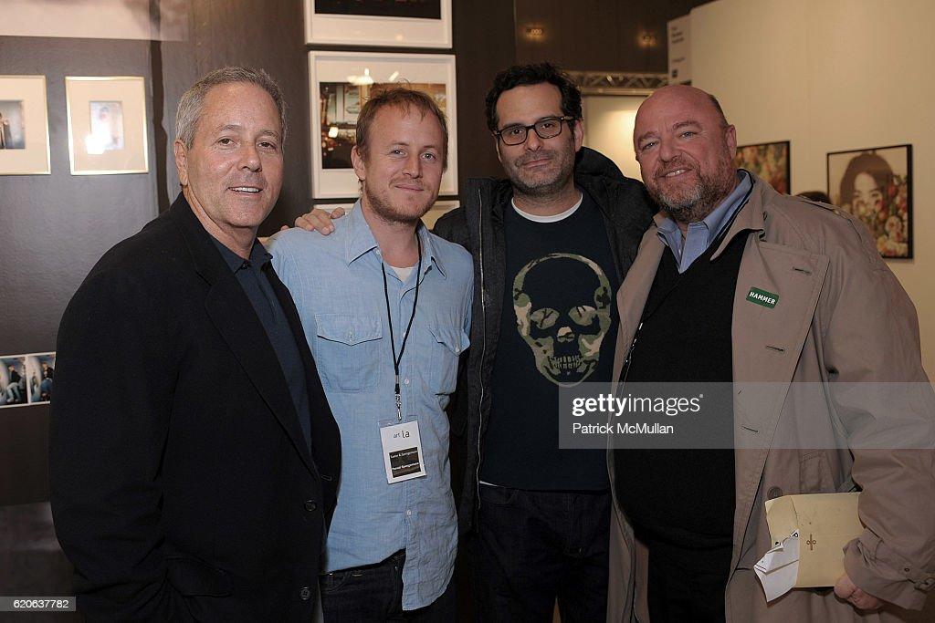 David Hoberman Pascal Spengemann Matt Eberly And Dean Valentine Attend ART  LA Opening Night Reception Benefiting