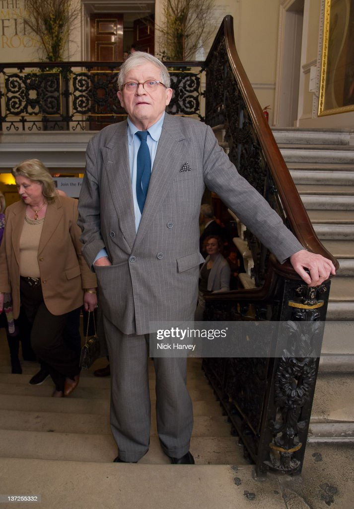 The David Hockney Private View At The Royal Academy