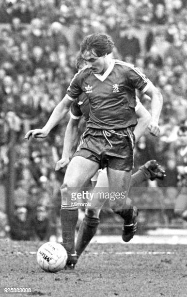 David Hodgson Middlesbrough FC 2 1 Everton 22nd March 1980
