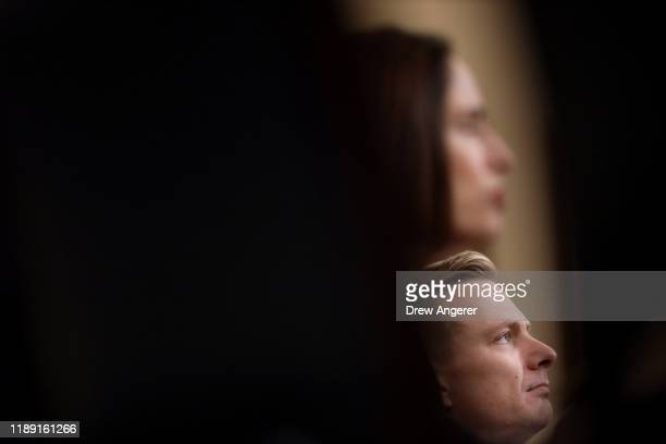 David Holmes the under secretary of state for political affairs and Fiona Hill the National Security Council's former senior director for Europe and...