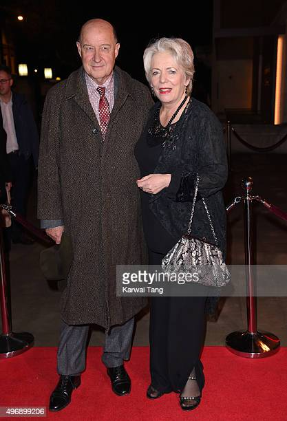 David Horovitch and Alison Steadman attend the Park Theatre Annual Gala Dinner at Stoke Newington Town Hall on November 12 2015 in London England