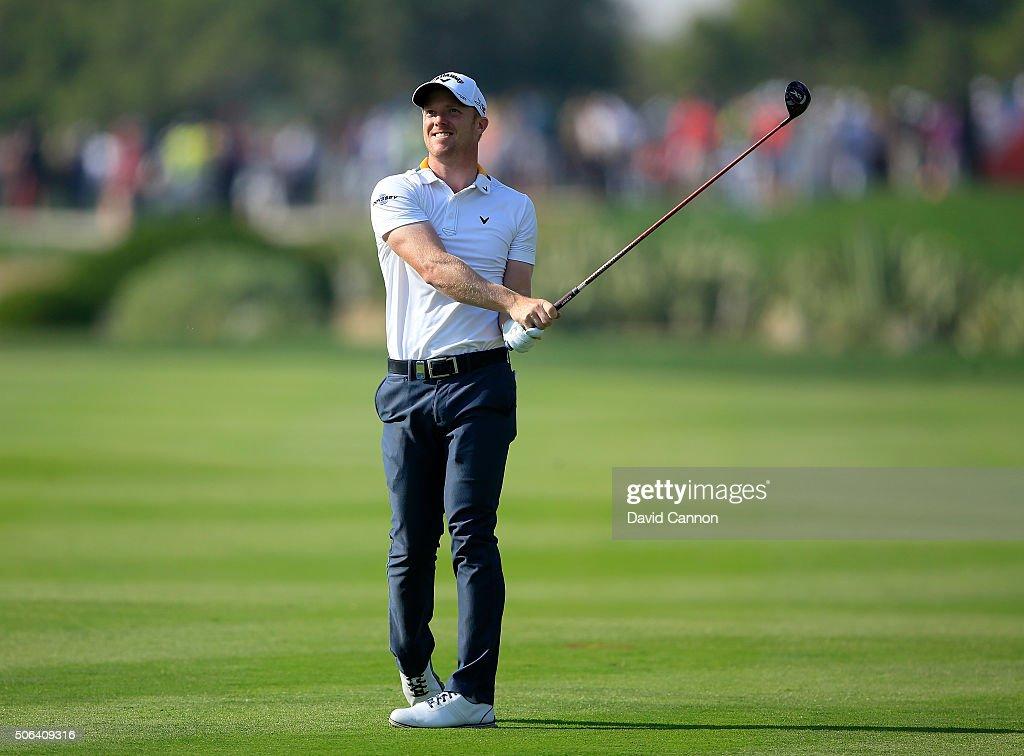 Abu Dhabi HSBC Golf Championship - Day Three : News Photo
