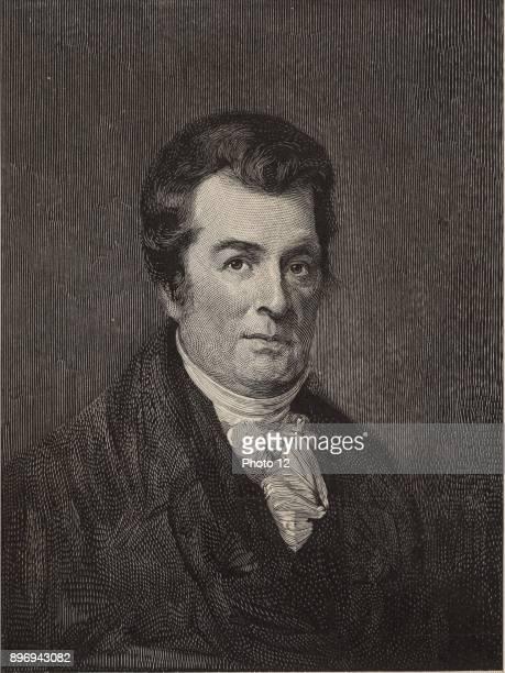 David Hosack American physician and botanist He established the Elgin Botanic Garden New York where the Rockefeller Centre now stands Engraving 1896