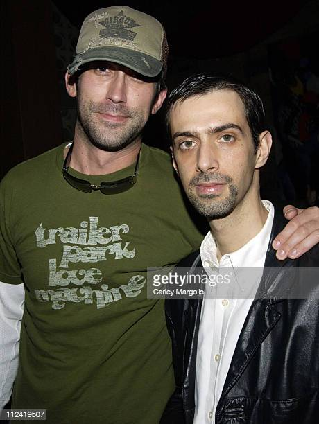 David Howell of Libation and Andrew Lepera during 5th Annual Tribeca Film Festival 'Lonely Hearts' Premiere After Party Premiere Film Music Lounge at...