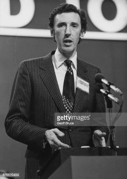 David Howell the Secretary of State for Energy and MP for Guildford at the Conservative Party Conference in Brighton UK 14th October 1980