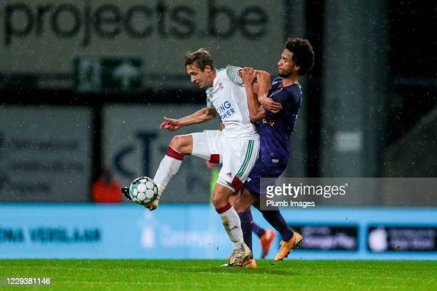 David Hubert of OH Leuven during the Jupiler Pro League match between Beerschot and OH Leuven at the Olympisch Stadion on October 31 2020 in Wilrijk...