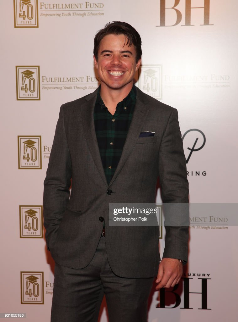 David Hull attends A Legacy Of Changing Lives presented by the Fulfillment Fund at The Ray Dolby Ballroom at Hollywood & Highland Center on March 13, 2018 in Hollywood, California.