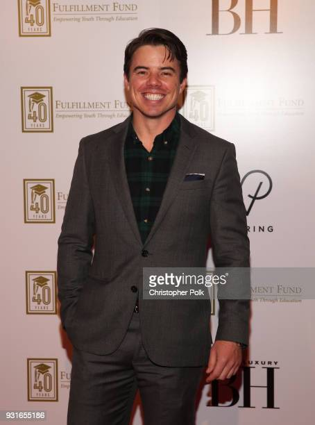 David Hull attends A Legacy Of Changing Lives presented by the Fulfillment Fund at The Ray Dolby Ballroom at Hollywood Highland Center on March 13...