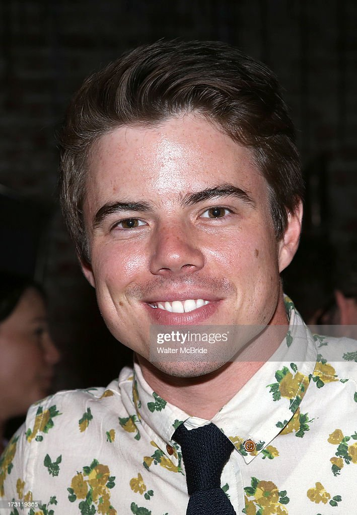 David Hull attends the closing night party for 'Silence! The Musical' at Elektra Theatre on July 7, 2013 in New York City.