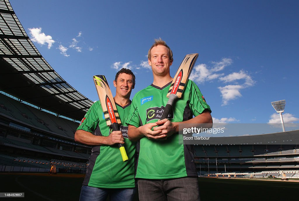 Melbourne Stars Cricket Team Media Call