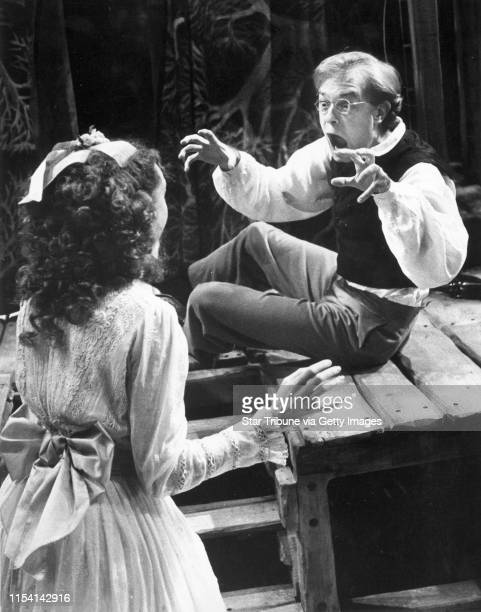 """David Hyde Pierce and Mary Beth Fisher are shown in Chekhov's play """"The Seagull"""" at the Guthrie Theater. Star Tribune photo by Marlin Levison, Oct...."""