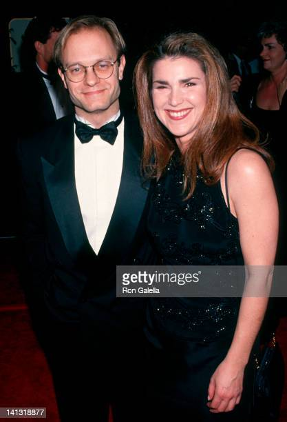 David Hyde Pierce and Peri Gilpin at the 51st Annual Golden Globe Awards Beverly Hilton Hotel Beverly Hills