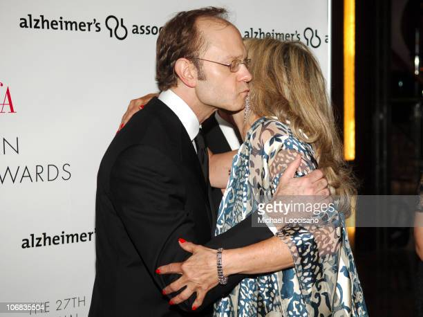 David Hyde Pierce and Pricess Yasmin Aga Khan during 2005 AAFA American Image Awards to Benefit the Rita Hayworth Fund of the Alzheimers Association...