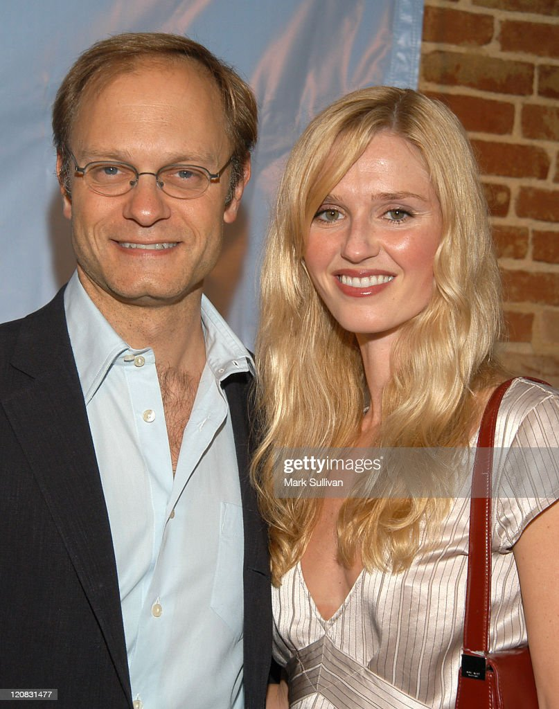 David Hyde Pierce and Vanessa Branch during David Hyde Pierce & Friends Host Wine Tasting and CD Release Party For 'Sonora Uncorked' at Cinespace in Hollywood, California, United States.