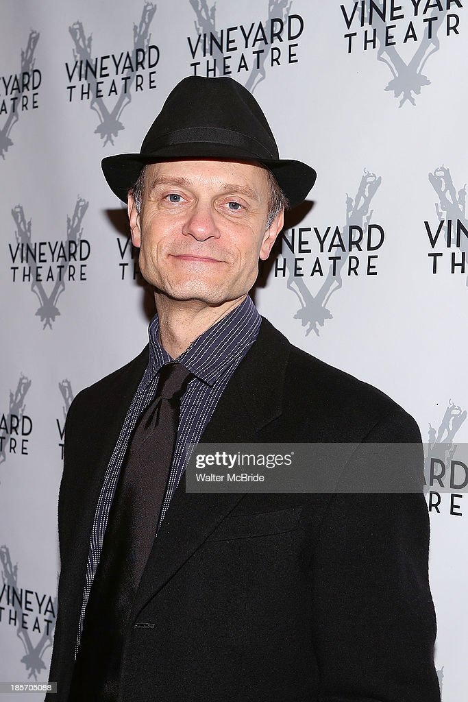 David Hyde Pierce attends the opening night After Party for 'The Landing' at Vineyard Theatre on October 23, 2013 in New York City.