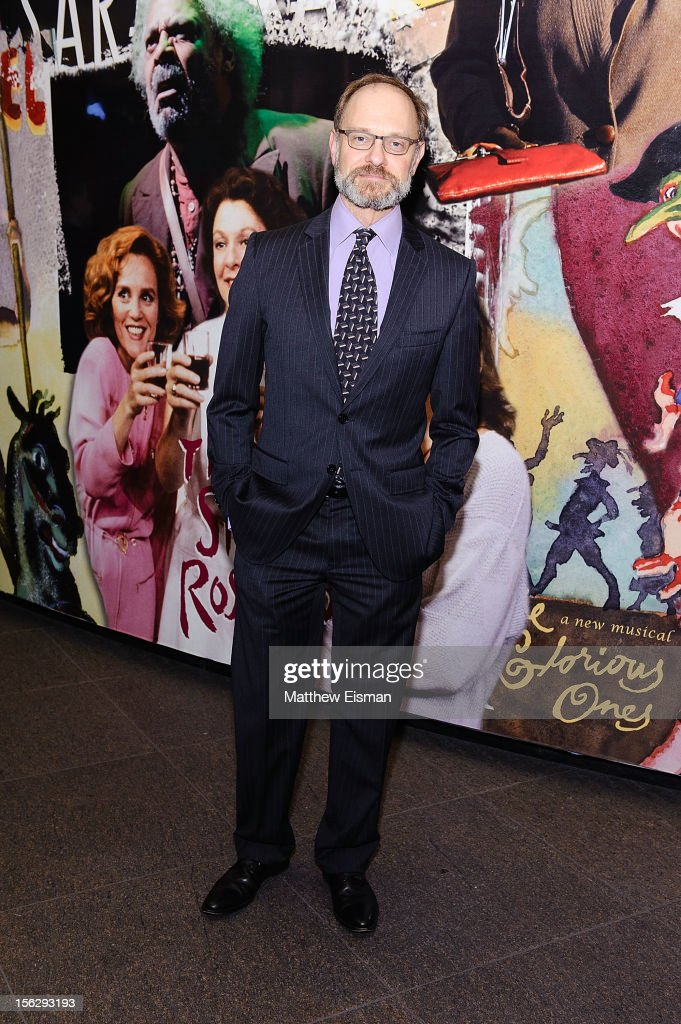 David Hyde Pierce attends the opening night of 'Vanya And Sonia And Masha And Spike' at Mitzi E. Newhouse Theater on November 12, 2012 in New York City.