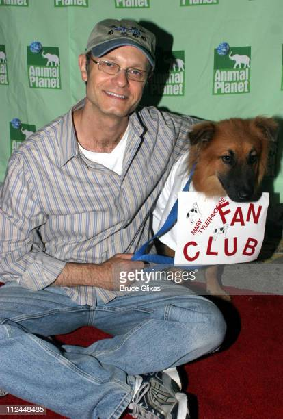 David Hyde Pierce during Broadway Barks 7 at Shubert Alley in New York City New York United States