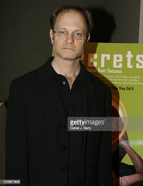 David Hyde Pierce during Secrets of VoiceOver Success Book Launch Party with David Hyde Pierce June 3 2005 at The Madison Towers Hotel in New York...