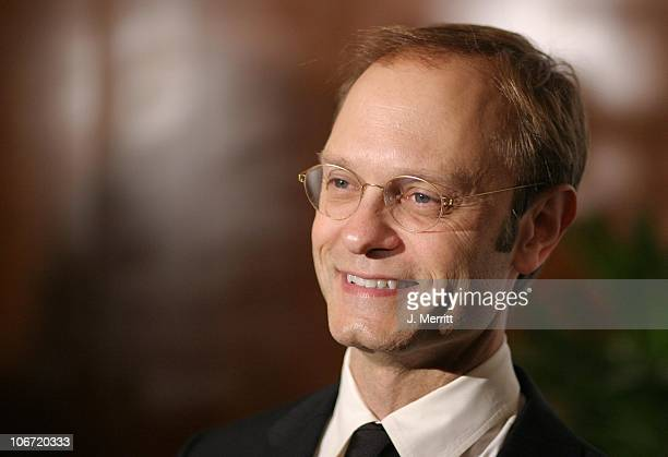 David Hyde Pierce during The Museum Of Television Radio To Honor CBS News's Dan Rather And Friends Producing Team at The Beverly Hills Hotel in...