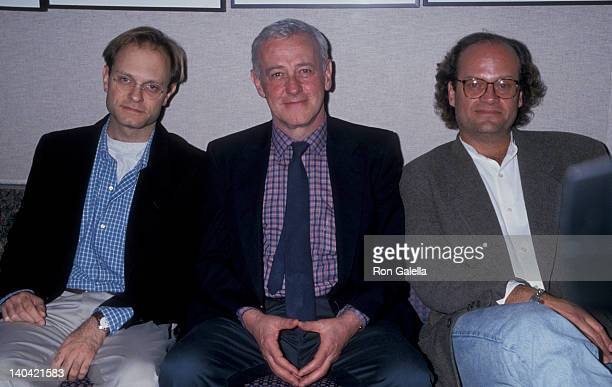 David Hyde Pierce John Mahoney and Kelsey Grammer at the Museum of Television Radio 12th Annual Festival Directors Guild of America Building West...