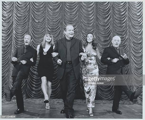 David Hyde Pierce Kelsey Grammer Jane Leeves Peri Gilpin John Mahoney