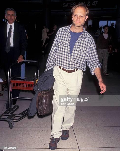 David Hyde Pierce Sighted at Los Angeles International Airport