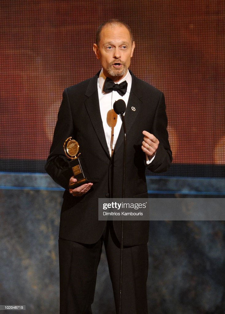 David Hyde Pierce speaks onstage during the 64th Annual Tony Awards at Radio City Music Hall on June 13, 2010 in New York City.