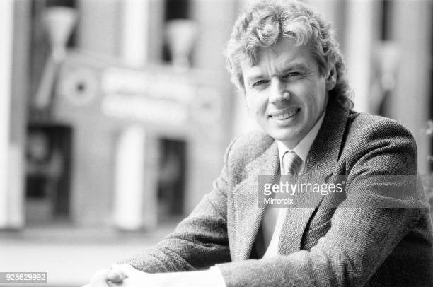 David Icke, Green Party spokesman, outside Wolverhampton Civic Hall during a break in proceedings during the party's Spring conference, 5th April...
