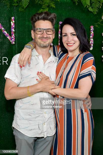 David Iserson and Allis Markham attend Adina Reyter Friendship Bracelet Launch at Soho House on July 26 2018 in West Hollywood California