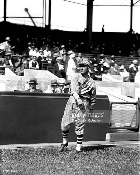 David J Bancroft of the Boston Braves throwing a ball in1926