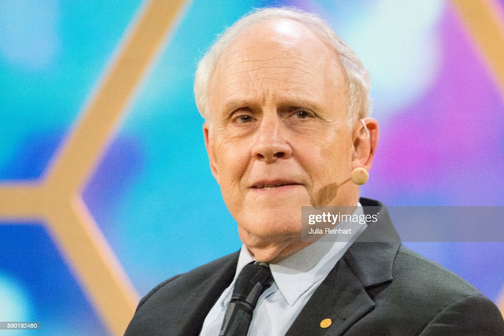 David J. Gross, 2004 Laureate of the Nobel Prize in Physics, speaks at 'Nobel Week Dialogue: the Future of Truth' conference at at Svenska Massan on December 9, 2017, in Gothenburg, Sweden.