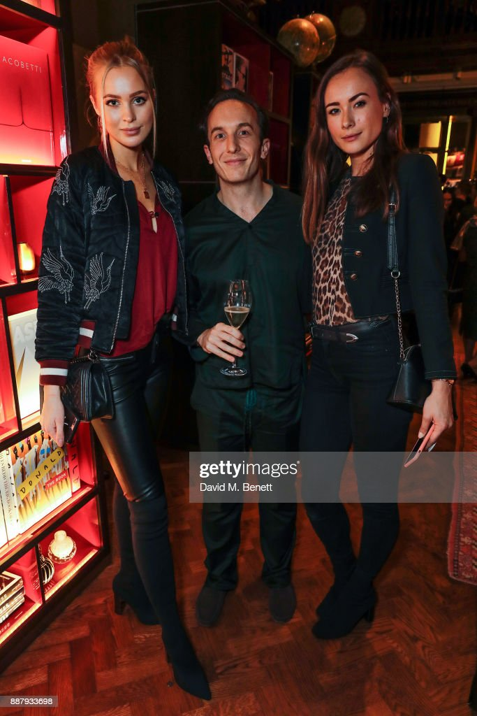 David Jack attends the launch of new luxury sleepwear brand 'Tender Is The Night' at Maison Assouline on December 7, 2017 in London, England.