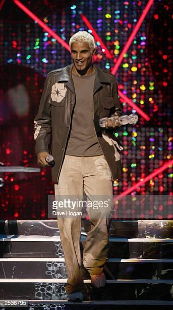 David James at the Mastercard MOBO Awards 2003 held at the Royal Albert Hall on September 25 2003 in London