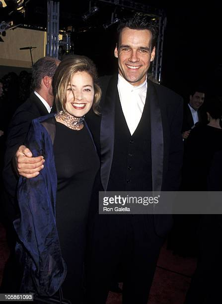 David James Elliott and Nanci Chambers during 22nd Annual People's Choice Awards at Universal Studios in Universal City California United States