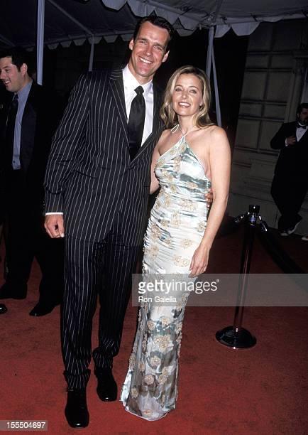 David James Elliott and Nanci Chambers during 28th Annual People's Choice Awards Arrivals at Pasadena Civic Auditorium in Pasadena California United...